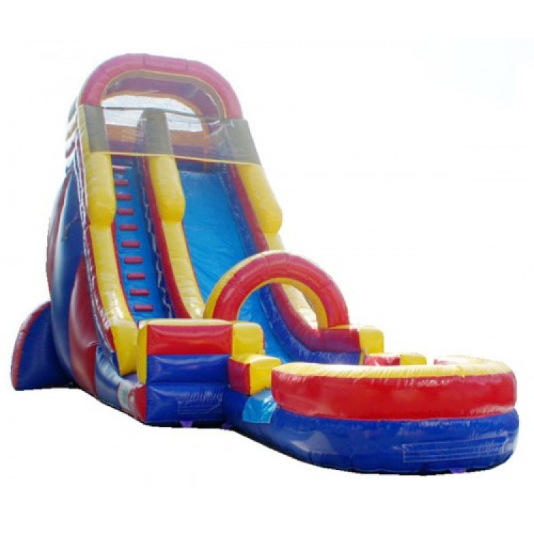 22ft Red Water Slide $310