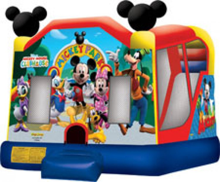 Mickey Mouse With WaterSlide  $180